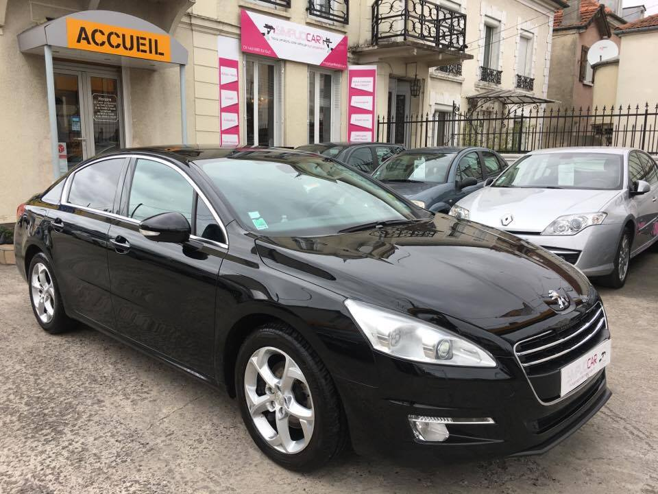 voiture peugeot 508 2 0 hdi 163ch fap bva6 f line a occasion diesel 2012 95000 km 14990. Black Bedroom Furniture Sets. Home Design Ideas