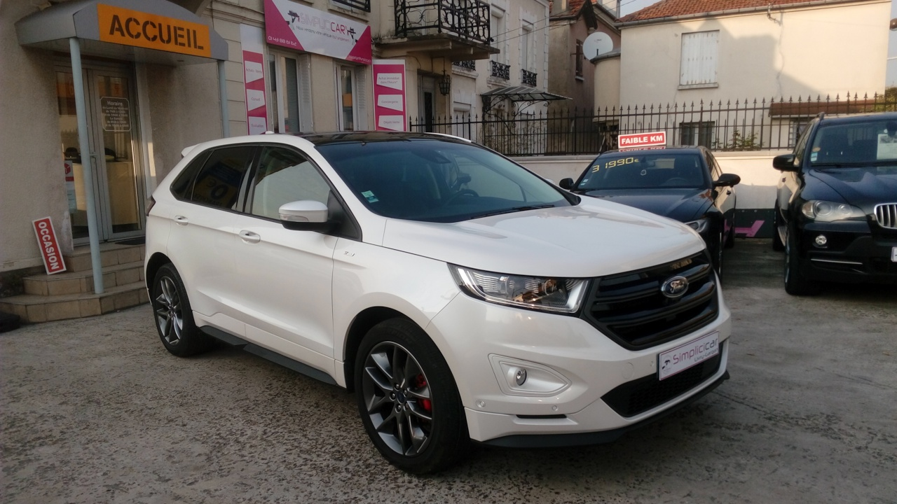 voiture ford edge 2 0 tdci 210 powershift intelligent awd sport occasion diesel 2016 7900. Black Bedroom Furniture Sets. Home Design Ideas